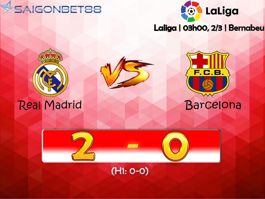 Highlights Real Madrid vs FC Barcelona (2-0) 03-02-2020